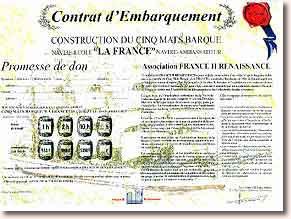Une légende pour demain : La France Contrat